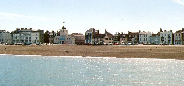 Deal Seafront from the Pier